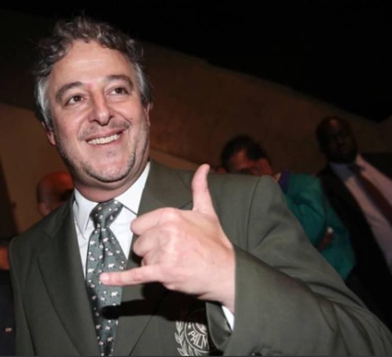 Paulo Nobre, eleito o novo presidente do Palmeiras
