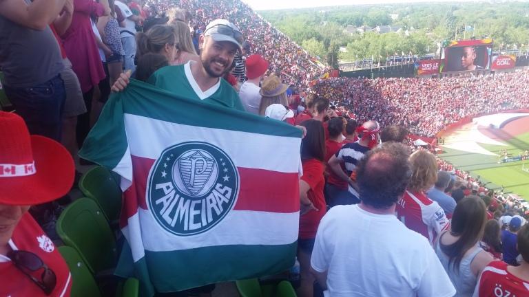Copa do Mundo de Futebol Feminino - O Verdão se fez presente na torcida